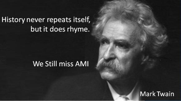 Mark Twain We Still Miss AMI