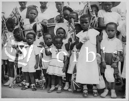 Image result for school children in Nigeria's Independence 1960
