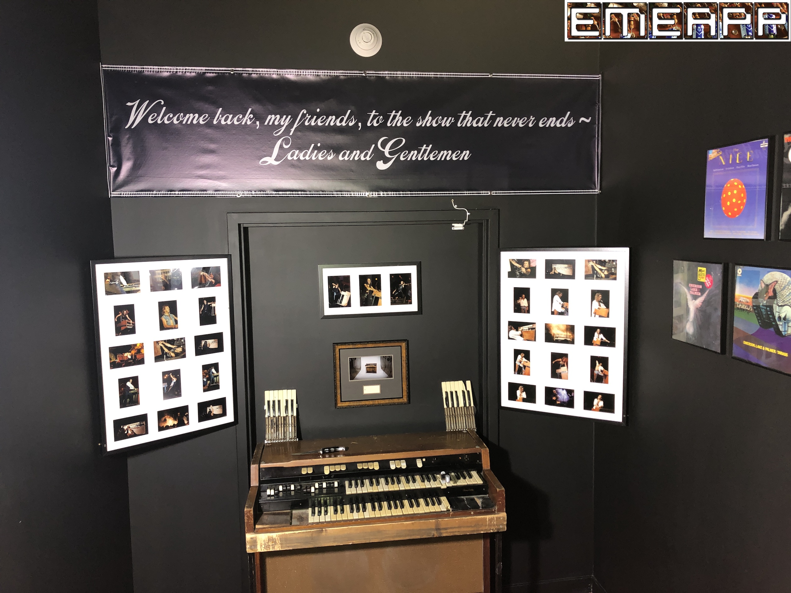 """Highlights of """"The Keith Emerson Experience""""   EMEAPP"""
