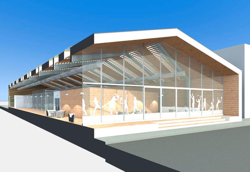 Gimnasio en Lugo - Colaboración con Jordi Marcé Arquitectes