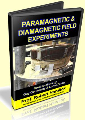 Paramagnetic & Diamagnetic Field Experiments by Professor Robert Haralick, Guy Obolensky & Loren Zanier