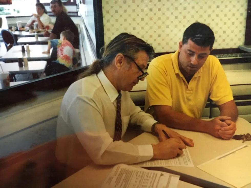 Geoffrey Miller & Joseph Newman at McDonald's