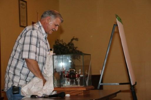 John Bedini's Glass Case Motor - Gravity Wave Space Flux Motor
