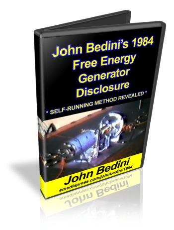 John Bedini's Free Energy Generator
