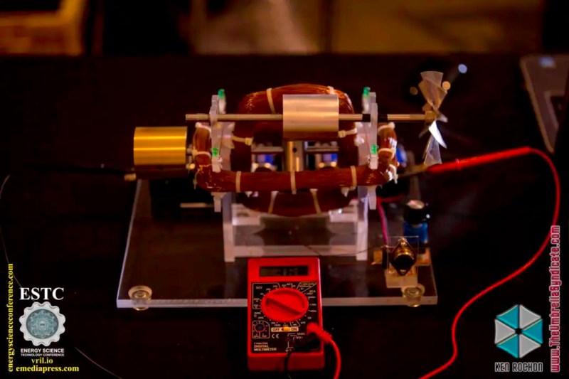 Bedini's Gravity Wave Space Flux Motor 1