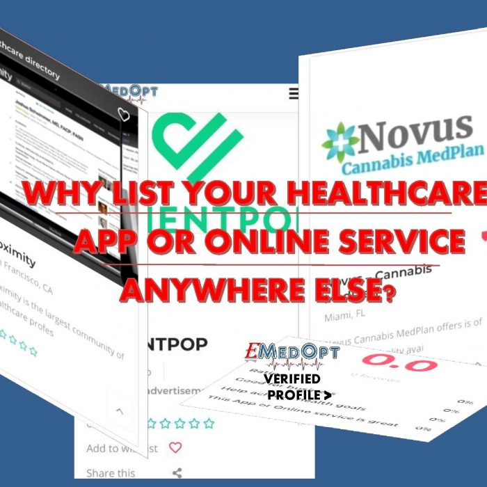 WHY LIST YOUR HEALTHCARE