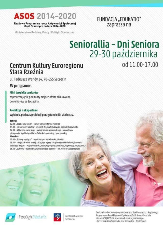 29-30.10.2016 Seniorallia – Dni Seniora