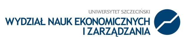 Uniwersytet Szczeciński - Wydział Nauk Ekonomicznych i Zarządzania - logo - fundacja e-medycyna