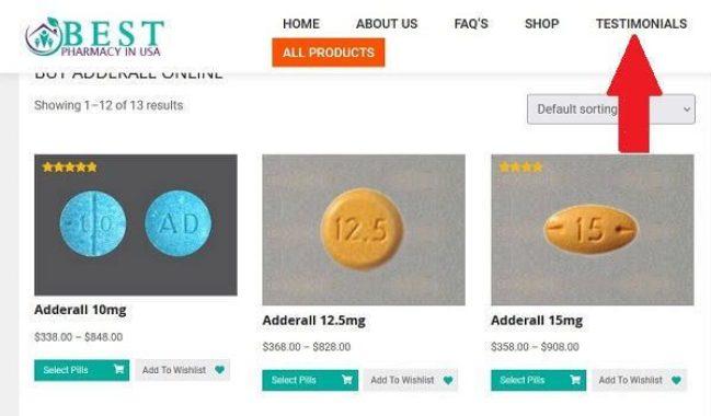 Fake Testimonials for rogue pharmacy