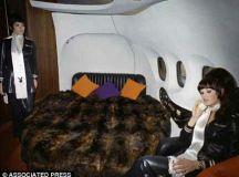 The Mile High Club Hugh Hefner style: A fascinating look inside the glamorousPlayboy jet Big ...