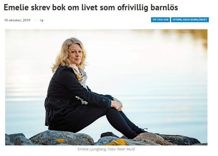 Artikel om Emelie Ljungberg och Längtansresan på villhabarn.se