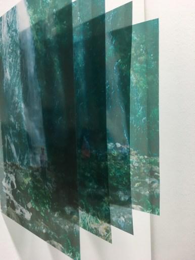 Emelien Dieleman, experiment l, 2016, 10 x 15 cm, foto op transparant sheet