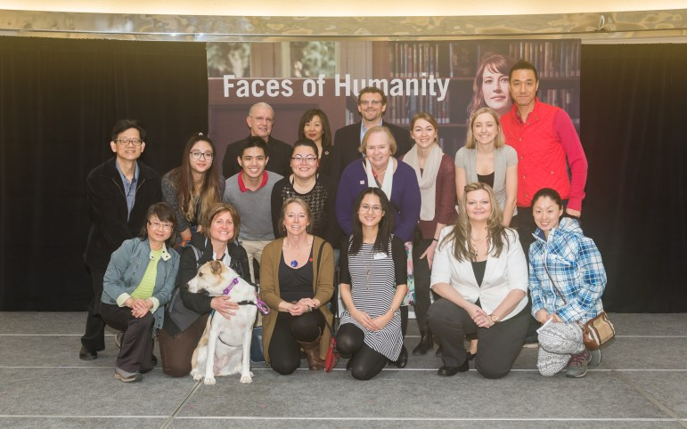 Canadian Red Cross Faces of Humanity Launch Event volunteer team, 2016.