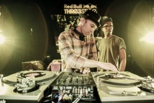 Peanut Butter Wolf at Redbull