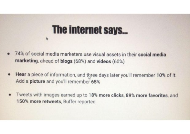 the importance of visuals in social media