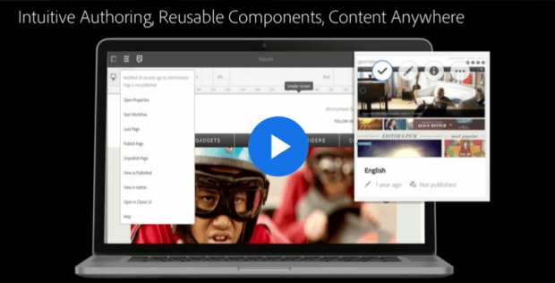 Intuitive authoring, Reusable content, Content anywhere