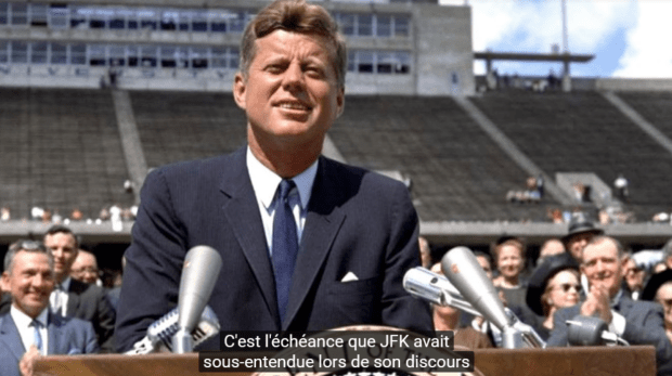 JFK speech about sending a man to the moon