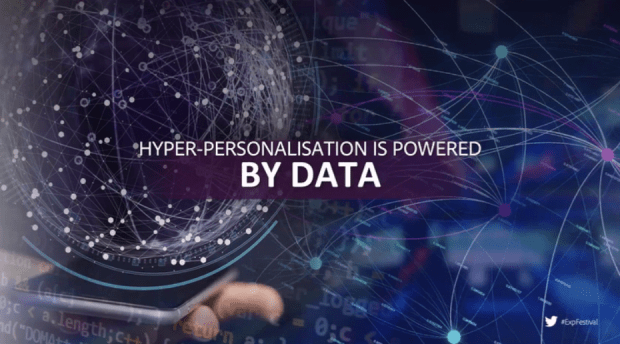 Hyper-Personalisation is powered by data