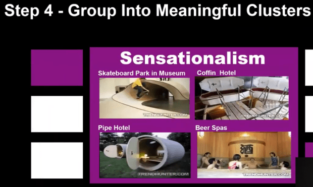 Group into meaningful clusters
