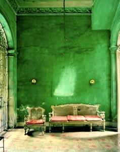 green-interior