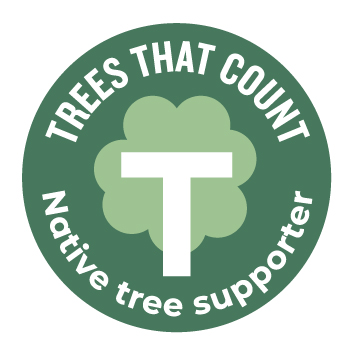Trees that Count - Native Tree Supporter Logo
