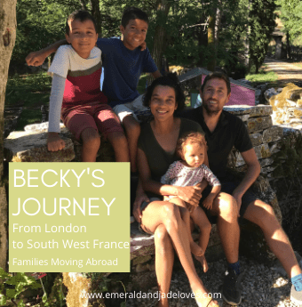 Emerald and Jade Loves - Families Moving Abroad Series