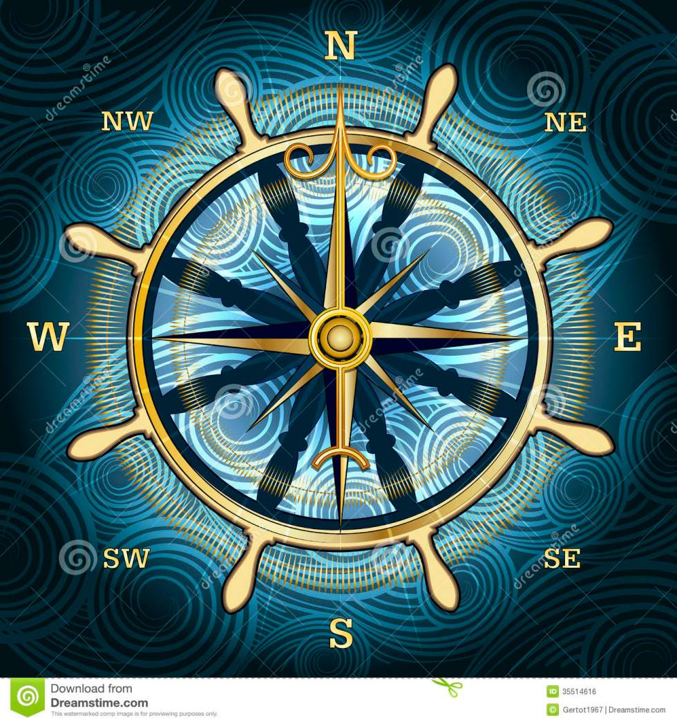 compass rose - image