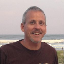 Jim Neely at the Beach