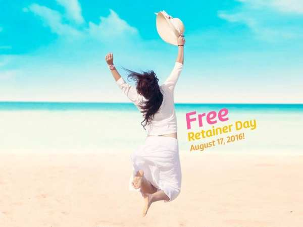 Free Retainer Day — Wednesday, August 17!