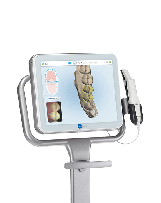 itero system for orthodontic impressions, image of bone, anatomy, fishbein orthodontics