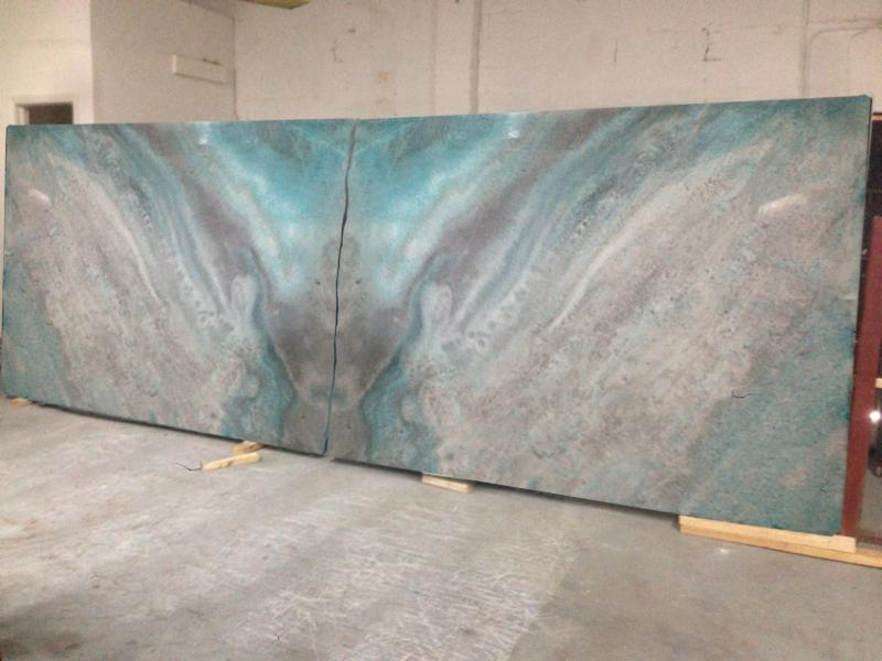 Book Matched Crystals  Emerald Coast Fabrication