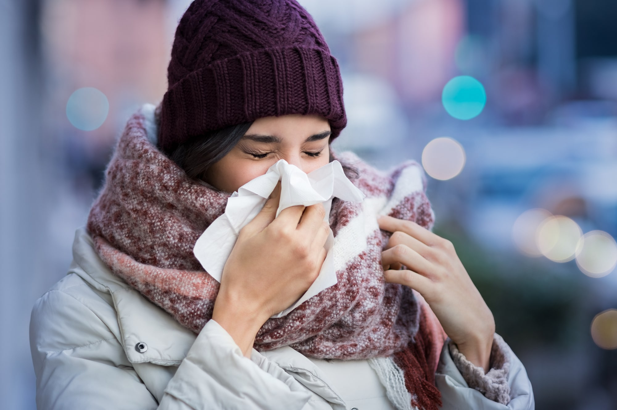 does cold weather make you sick