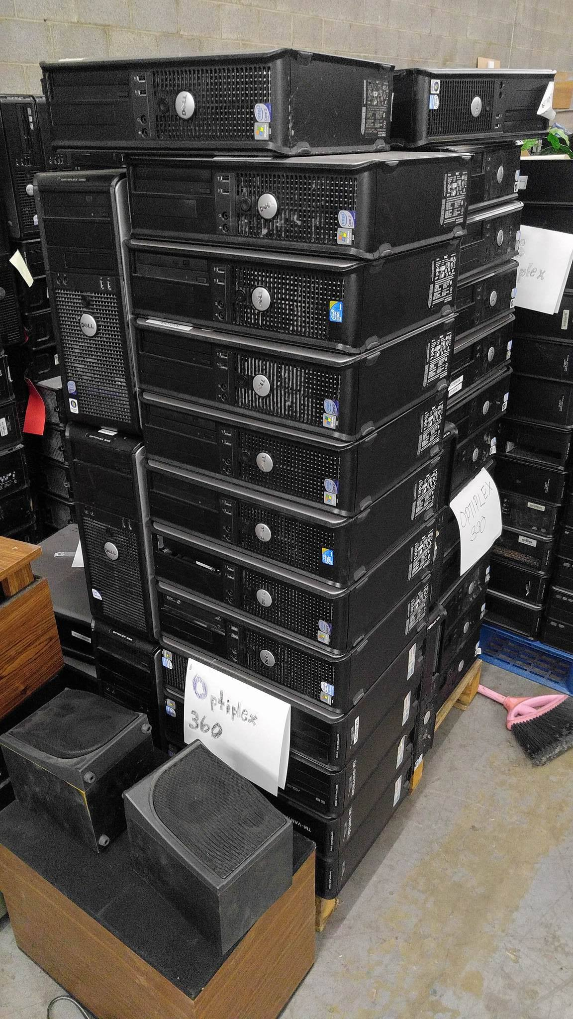 Warehouse Items  Scrap Computers for Sale  Emerald Computers