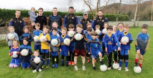 Spa GAA Under-8 Gaelic Football Team group photo