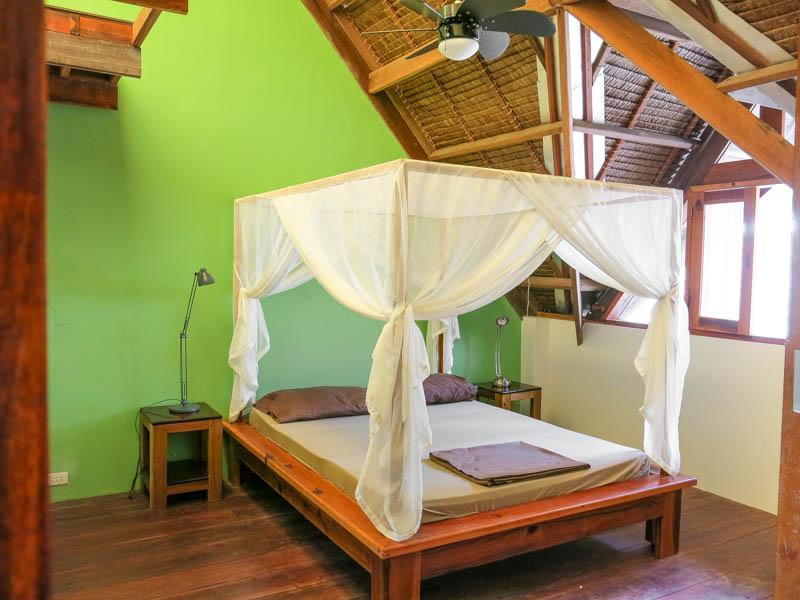 Emerald House Village  Logement  La chambre verte