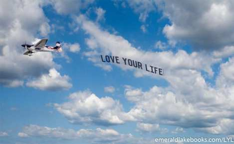 Plane banner - Love Your Life