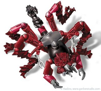 Galidor, created for Hasbro