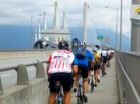 The Golden Ears Bridge in metro Vancouver