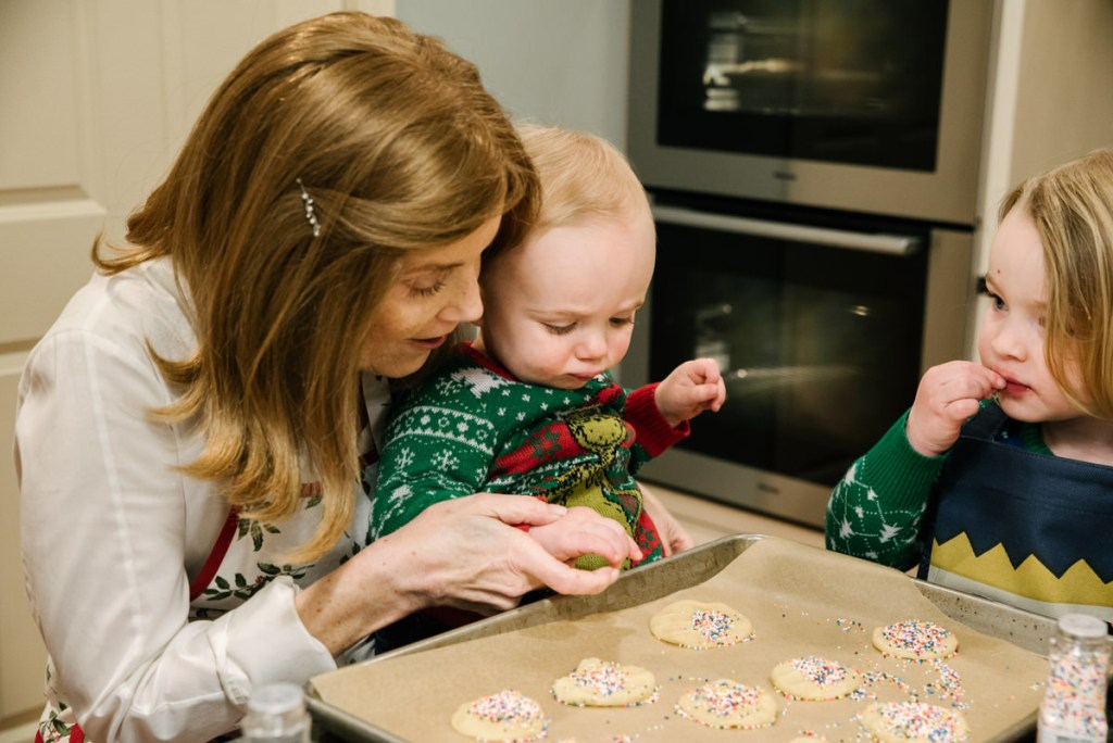 Grandmother Baking