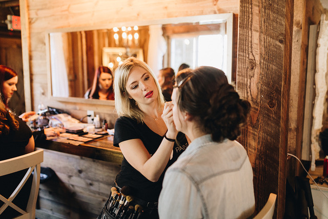On-site hair and makeup is key!