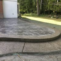 Exposed Aggregate Concrete | Concrete Driveways  Stamped ...