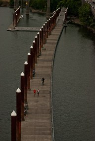 Vince Ferguson - Water Walkway over the Willamette River, Photograph