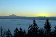 Vince Ferguson - Mount Hood Sunrise 01072015 - Digital Image
