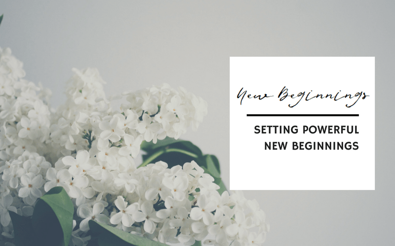 Setting powerful new beginnings by Emerge and Bloom