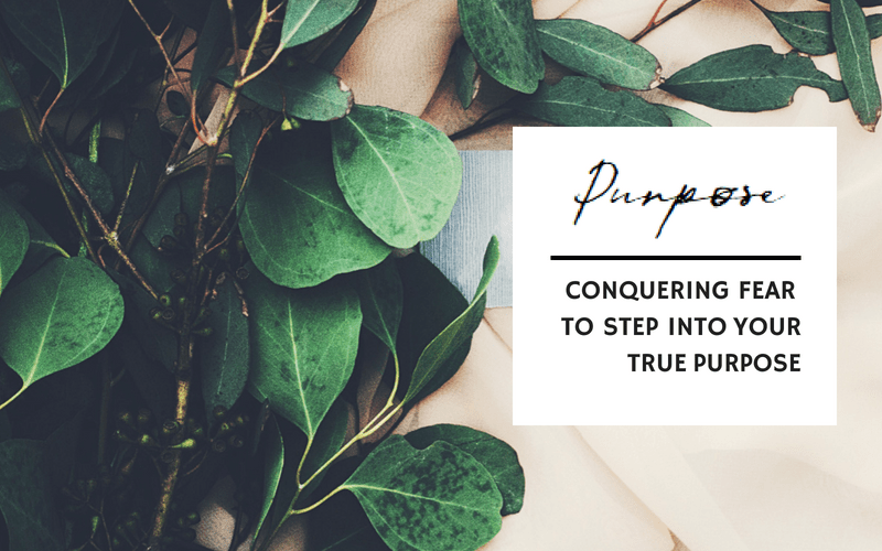 Conquering fear to step into your true purpose | www.EmergeAndBloom.com