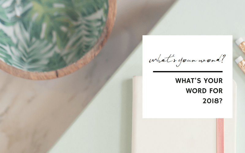 What's your word for 2018? | www.EmergeAndBloom.com
