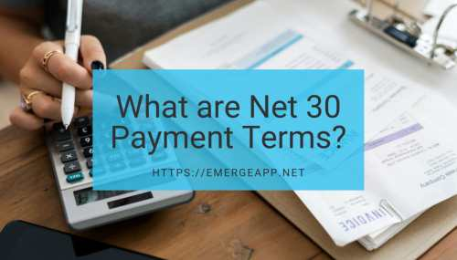 small resolution of what are net 30 payment terms