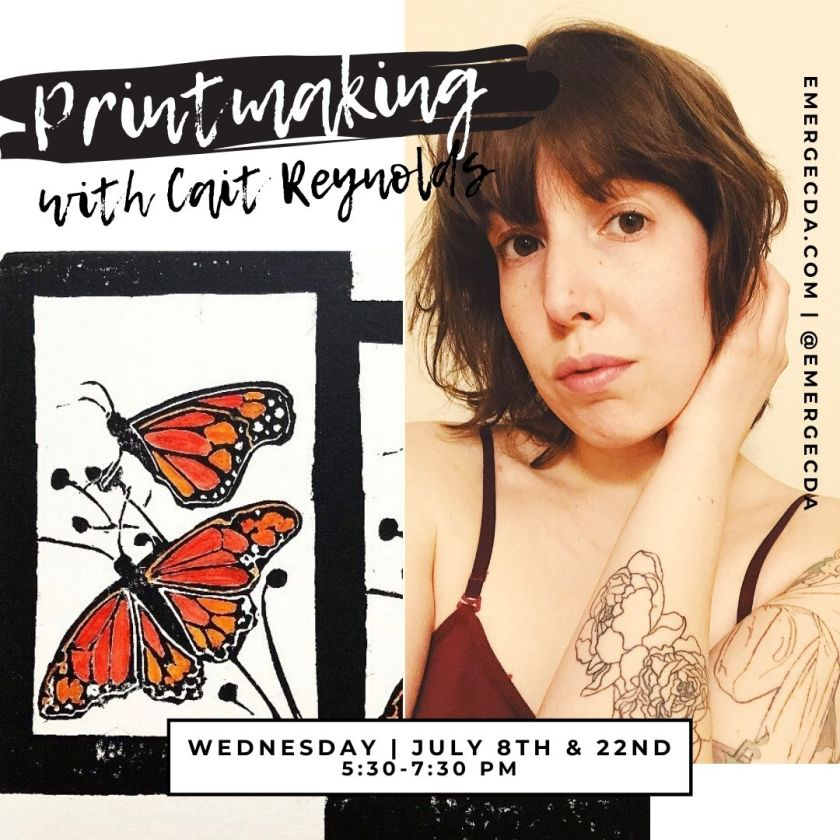 Printmaking with Cait Reynolds