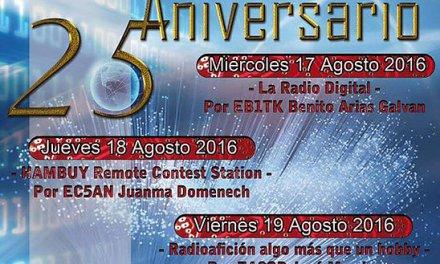 XXV JORNADAS DE RADIOAFICIÓN Y COMUNICACIONES