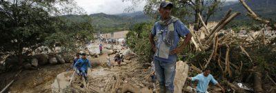 Radioaficionados actuando en la emergencia de Mocoa (Colombia)